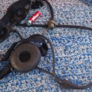 # VINTAGE SOVIET  USSR MILITARY LARYNGOPHONE THROUGHT MICROPHONE WITH EARPHONE