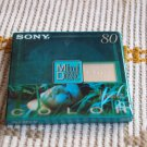 L242 SONY MINIDISK GREEN COLOR 80 SHOCK ABSORBING SEALED NOS