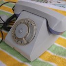 VINTAGE SOVIET USSR RUSSIAN TA-68 ROTARY DIAL PHONE LIGHT GREY ABOUT 1970