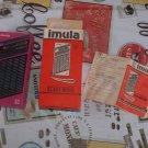 VINTAGE SOVIET USSR AM LW POCKET RADIO IMULA RP-8310 NOS