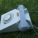 ANTIQUE  SOVIET DDR GDR EAST GERMANY ROTARY DIAL PHONE GREY ABOUT 1970