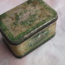 Antique Rare Soviet Ukraine  USSR Empty Tea Tin Box  1946
