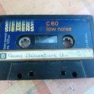 Rare Vintage SIEMENS C60 Cassette Tape No Case