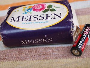 VINTAGE SOAP MEISSEN MADE IN DDR ABOUT 1980 NOS