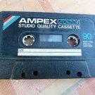 Rare Vintage AMPEX 20/20 Studio Quality Cassette Tape No Case