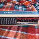 VINTAGE USSR RUSSIAN SOVIET AM LW TRANSISTOR  RADIO ABAVA RP 8330 BLUE GREY