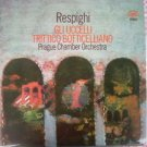 Vintage O. Respighi Supraphon 1110 1769 LP From 1975