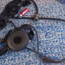 VINTAGE SOVIET  USSR MILITARY LARYNGOPHONE THROUGHT MICROPHONE WITH EARPHONE