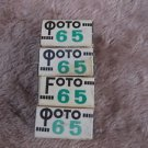 Soviet B & W negative CO 65 4 film rolls expired, Svema, USSR, lomography
