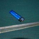 Vintage Russian Soviet USSR Aluminum Hair Comb  NOS #23