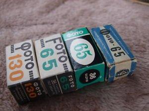Soviet B & W negative assorted  4 film rolls expired, Svema, USSR, lomography #1