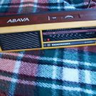 VINTAGE USSR RUSSIAN SOVIET AM LW TRANSISTOR  RADIO ABAVA RP 8330 YELLOW COLOR