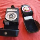LOT OF 2 VINTAGE RUSSIAN USSR SOVIET LIGHT METERS FOR PARTS OR REPAIR
