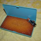 VINTAGE SOVIET RUSSIAN SELF INKING STAMP PAD PLASTIC BOX MADE IN USSR  NOS