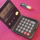 Vintage Citizen LCD Calculator  Alarm Clock DX8012