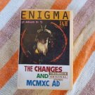 ENIGMA THE CHANGES & MCMXC AD (2 ALBUM  IN 1)  MEGA RARE THOMSUN CASSETTE