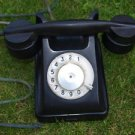 ANTIQUE SOVIET RUSSIAN USSR ROTARY DIAL PHONE BAGTA-50 BAKELITE