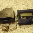 PHILIPS PRG 2220 VINTAGE WORKING AUTHENTIC BEEPER PAGER & CASE COLLECTIBLE