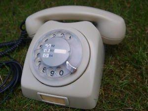 RARE VINTAGE RARE SOVIET YUGOSLAVIA ROTARY DIAL PHONE ATA 80-01a