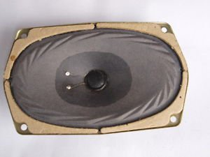 "Vintage Soviet USSR Russian  6"" Oval Midrange Speaker 3GDS-2-4 3��Ш-2-4 4 Ohms"