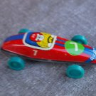 Antique Rare Soviet Russian USSR  Tin Toy Racing Car Vichr