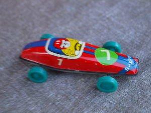 Antique Rare Soviet Russian USSR  Tin Toy Racing Car Vichr