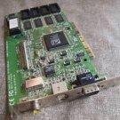 VINTAGE ATI 3D RAGE II PN 109-38500-00 2MB VGA PCI VIDEO CARD