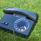 Vintage Soviet Russian USSR Rotary Dial Phone VEF TA-D Black Color Tested