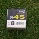 Vintage USSR Soviet Cine movie B&W reversal OC-45 film 2x8mm regular perf, Svema