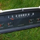 Vintage Russian Soviet USSR IZh Moskvitch 412 Instrument Gauge  Panel  Hot Rod