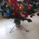 RARE VINTAGE SOVIET USSR RUSSIAN MOTORIZED ROTATING CHRISTMAS TREE BASE STAND
