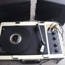 RETRO VINTAGE WIFONA CORONA S SUITCASE 3 SPEED PORTABLE RECORD PLAYER TURNTABLE