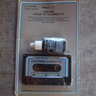 Vintage  Audio Two Way Cassette Tape Cleaning Kit Radio Shack 44-1162 NOS
