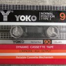 Rare Vintage Yoko 90 Sealed Blank Audio Cassette NOS
