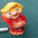 Vintage USSR Russian Folk Tale IVAN the FOOL Soviet Rubber Toy IVANUSHKA 1970s