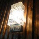 Vintage Soviet USSR  Belarus SSR 70 Years Anniversary Wall Lamp