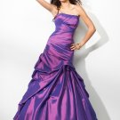 Ball Gown Strapless Floor-length Evening Dresses Prom Formal Gowns MS015