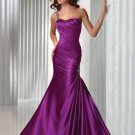 Trumpet/Mermaid One Shoulder Long Evening Dresses Prom Gowns MS083
