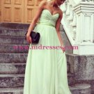 Long Green Wedding Party Bridesmaid Prom Evening Party Formal Dresses 22