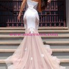 Mermaid Sweetheart Lace Wedding Party Prom Evening Formal Dresses 35