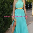 Side Split Long Chiffon Prom Evening Formal Dresses 160