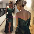 Lace Long Sleeves Long Prom Evening Formal Dresses 184