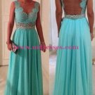Elegant Lace Top Long Prom Dresses Evening Gowns 211