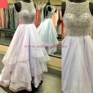 Beaded Long Prom Dresses Party Evening Gowns 368