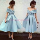 A-Line Off-the-Shoulder Prom Dresses Party Evening Gowns 419