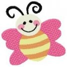 Cute Bugs & Flower Machine Embroidery Designs 4x4 Hoop