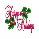 Christmas Sayings Machine Embroidery Designs 4x4 Hoop