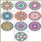Colorful Circles Machine Embroidery Designs 4x4 Hoop