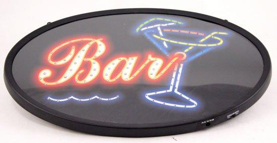 Brand New 13 x 21 Neon Bar Sign w Adaptor:Saloon