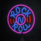 14 x 10 Neon Rock N Roll Sign